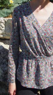 Blouse Madeleine fleurie